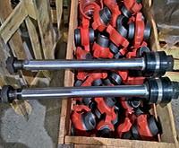 Шток поршня с поршнем гайкой и контргайкой насос НБ-125 ИЖ (9МГр) НЦ-320 (9Т)