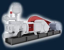 Агрегат АН-50 Буровой насосный агрегат АН-50