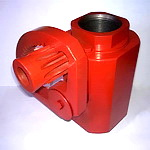 Кран шаровой КШ 25х70 чертёж АФНИ.306121.011 (аналог АСК 25.70.000-01) ДУ-25  Ру-70 МПа