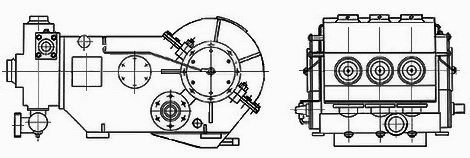 Схема насоса НТП-727