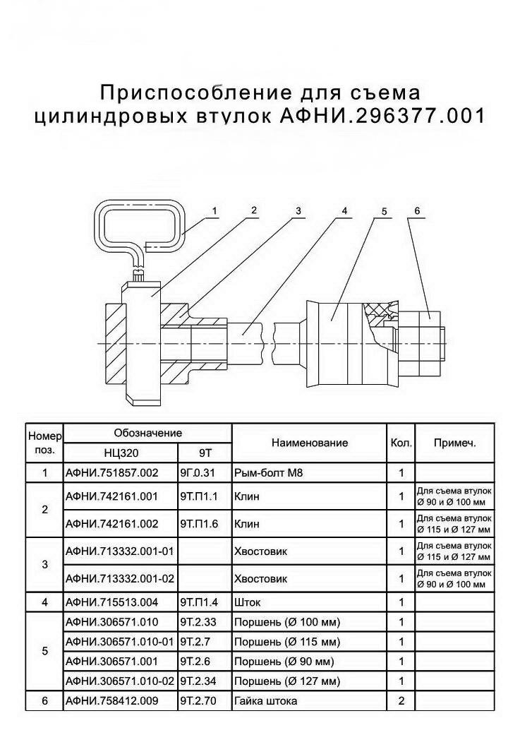 АФНИ.742161.001, КЛИН (СЪЁМНИК