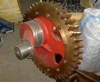 Вал эксцентриковый с венцом АФНИ.304515.001 насос НБ-125 ИЖ (9МГр) НЦ-320 (9Т)