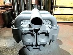 Блок гидравлический (гидравлика) НБ32.02.000 бурового насоса НБ-32 (НБ-50)