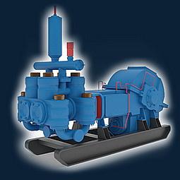 Насос НЦ-320 (9Т) Цементировочный насос НЦ-320 (9Т)