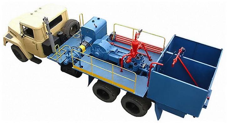 Цементировочный агрегат ЦА-320 (АНЦ-320)